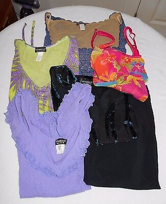 Mixed Lot Ladies Cosabella 5 Tops Shirts Underpinnings 1 Skirt Size Small Medium