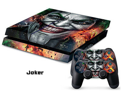 JOKER COOL 197 DECAL SKIN PROTECTIVE STICKER for SONY PS4 CONSOLE CONTROLLER