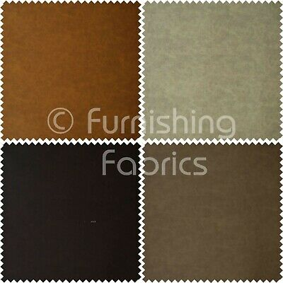 Quality Thick Durable Aged Distressed Faux Nubuck Leather Fabric Soft Semi Suede