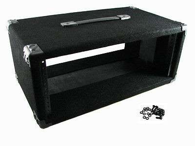 """Procraft 4U 12"""" Deep Equipment Rack 4 Space - Made in the USA - With Rack Screws"""
