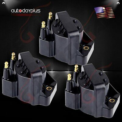 Pack of 3 New Ignition Coils for Buick LaCrosse LeSabre Rendezvous Skylark DR39