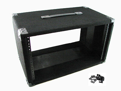 """Procraft 6U 12"""" Deep Equipment Rack 6 Space - Made in the USA - With Rack Screws"""