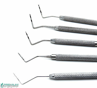 Dental Periodontal William Probes Examination Michigan Color Coded Marking 5 Pcs