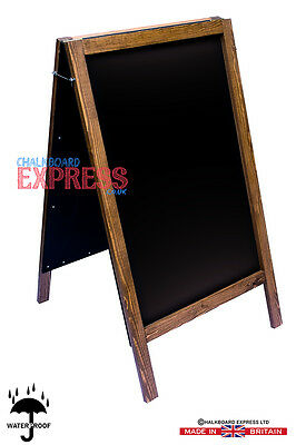 X Large Wooden A Board/pavement Sign/menu Board/chalkboard