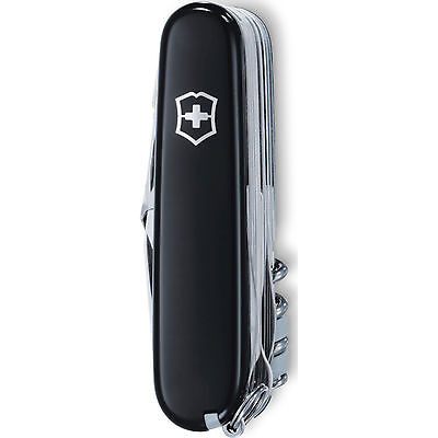 Swiss Army Knife, Swisschamp, Black, Victorinox 53503, New In Box