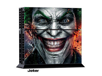JOKER COOL/197 DECAL SKIN PROTECTIVE STICKER for SONY PS4 CONSOLE CONTROLLER