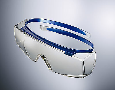 Uvex Super OTG Safety Over Spectacles Anti-Scratch Anti-Fog Glasses Clear Lens