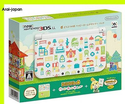 NEW Nintendo 3DS Console Animal Crossing Happy Home Designer Pack Forest