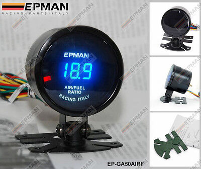 "EPMAN CARRERAS 52mm 2"" DIGITAL ANALÓGICO LED AIRE/COMBUSTIBLE RATIO"
