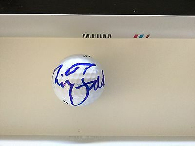 Nick Faldo Signed Taylor Made Golf Ball Autographed a