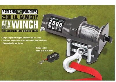 2500 lb. ATV Utility Electric Winch with Wireless Remote Control EXPEDITED SHIP!