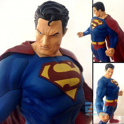 """Superman for Tomorrow 12"""" Hot DC Statue Action Figure Man of Steel Crazy Toys"""