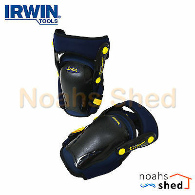 IRWIN Professional I-Gel™ Rocker Protective Cap Knee Pads with Hinges R-30509