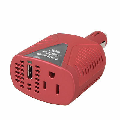 Car Auto Power Inverter Charger With USB  DC 12V to AC 220V Converter Adapter