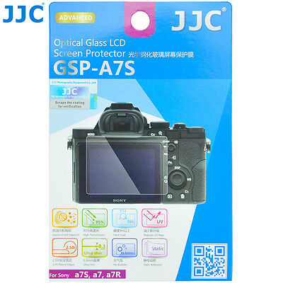 JJC 0.3mm 9H Optical Tempered Glass Screen Protector for SONY A7S A7R Camera