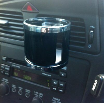Streetwize Vent Fit Car Van Motorhome Vehicle One Can Cup Drink Holder - BLACK