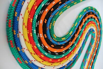 Braided Polypropylene Poly Rope Sailing Boat Camping  Various Colours And Sizes