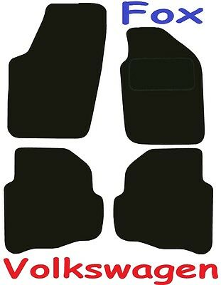 Vw Fox DELUXE QUALITY Tailored mats 2006 2007 2008 2009 2010 2011 2012 2013 2014