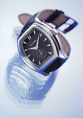 Pressefoto Chopard L.U.C. 3.97 Tonneau watch Uhr press photo GB F D I E Foto
