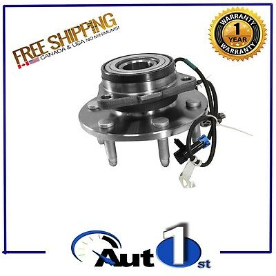 [1.515091] FRONT LEFT Wheel Hub Bearing Assembly for Chevrolet GMC AWD