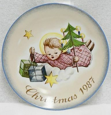 Schmid angelic gifts plate christmas 1984