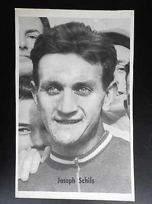 CP carte postale Lotto photo Cyclisme Joseph Schils  No tour de France
