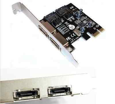 High Performance PCI-E To SATA3.0 Desktop Expansion Card SSD Solid State Disk CA
