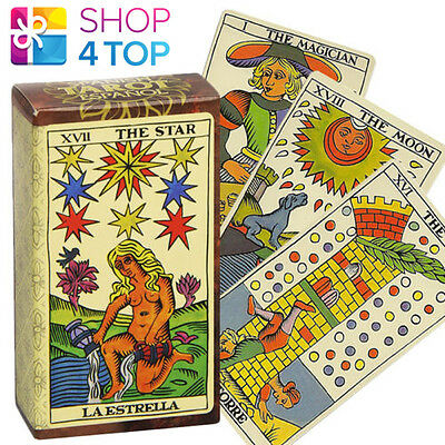 Spanish Tarot Espanol Cards Deck Esoteric Divination Telling Fournier New