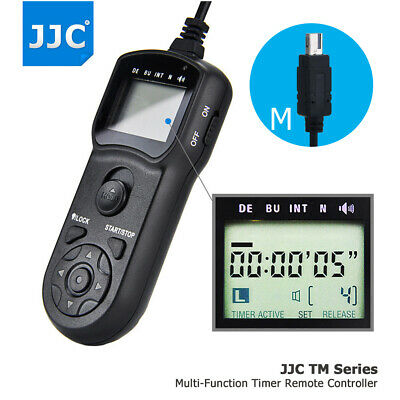 JJC Wire Multi-Function LCD Timer Remote Control For Nikon D3300 Df P7800 D5300