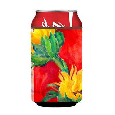 Carolines Treasures 6111CC Flower Sunflower Can Or Bottle Hugger