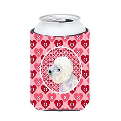 Westie Valentines Love And Hearts Can Or Bottle Hugger 12 oz.