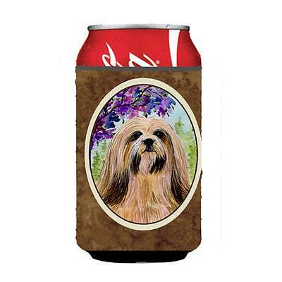 Carolines Treasures SS8436CC Lhasa Apso Can or bottle sleeve Hugger 12 oz.