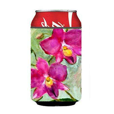 Carolines Treasures MM6052CC Flower Orchid Can or bottle sleeve Hugger