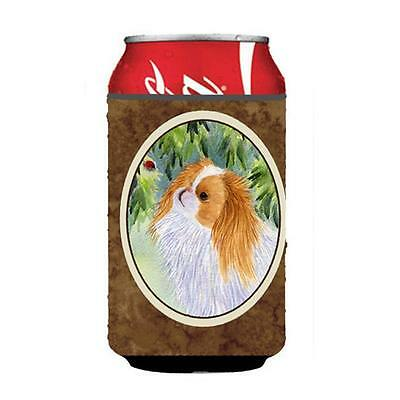 Carolines Treasures SS8260CC Japanese Chin Can or bottle sleeve Hugger 12 oz.