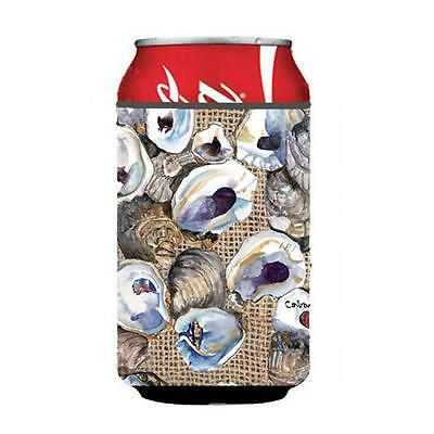 Carolines Treasures 8734CC Oyster Can Or bottle sleeve Hugger 12 oz.