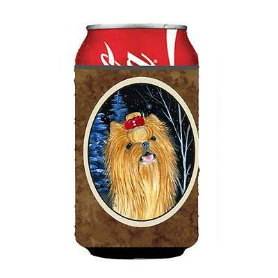 Carolines Treasures SS8413CC Starry Night Yorkie Can Or bottle sleeve Hugger