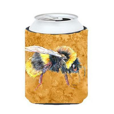 Carolines Treasures 8850CC Bee On Gold Can Or bottle sleeve Hugger 12 oz.