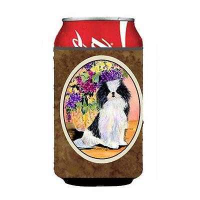 Carolines Treasures SS8299CC Japanese Chin Can Or bottle sleeve Hugger 12 oz.