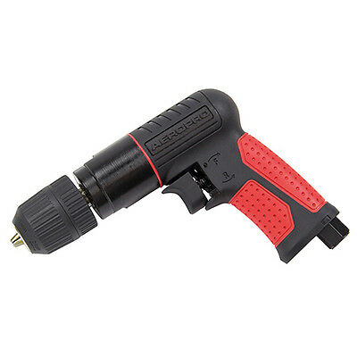 "SIP Reversible Air Drill with Keyless Chuck 3/8"" Composite"