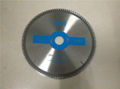 "8"" x 100T x 1"" Bore Woodworking Carbide Tipped Circular Saw Blades for Wood"