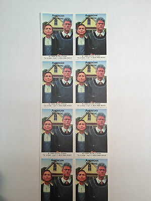 Parody Stamp sheet Bill and Hillary Clinton American Pathetic 1994 Slick Times