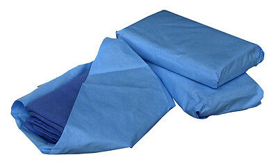 "Medline Sterile Disposable Surgical Towels, Blue, 17"" x 27"", 6 Count(Pack of 12)"