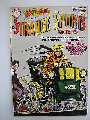 The Brave and the Bold #48 (Jun-Jul 1963, DC) [VG 4.0] Strange Sports Stories