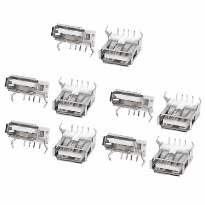 10PCS USB Type A Standard Port Female Solder Jacks Connector DI