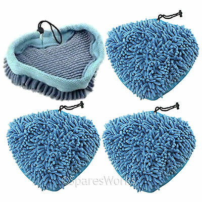 6 x Microfibre Steam Mop Pads for Hoover Steamjet SSNC1700 SSNBA1700 Steam Mop