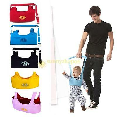 Infant Walking Learning Assistant Leash Harness Reins Kids Baby Strap Belt Safe