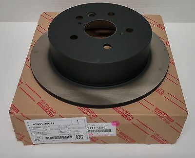 Toyota OEM Rear Brake Rotor For Highlander 42431-48041 Sold Individually