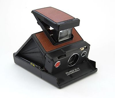 Polaroid SX-70 Model 3 Replacement Cover - Laser Cut Recycled Leather - 5 Colors