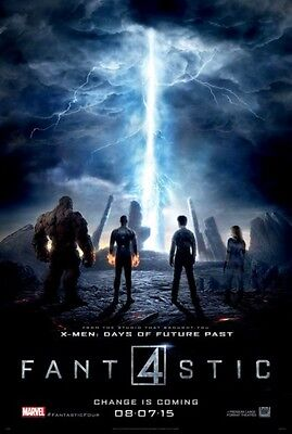 FANTASTIC FOUR - 2015 - original D/S 27X40 ADVANCE B Movie Poster - MILES TELLER