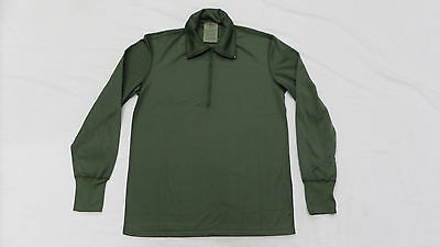 New Military Issue Sleep Shirt Heat Retentive Moisture Resistant Olive 1/4 Zip